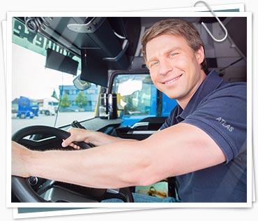 Atlas truck driver