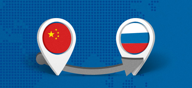 Поставки из Китая в Россию